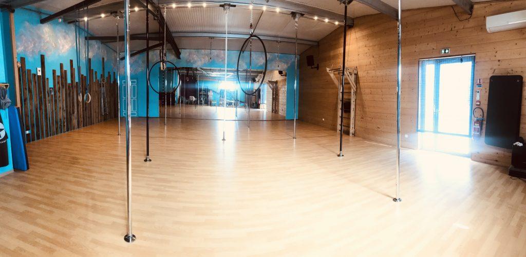 Le studio de pole dance de Madame Polette