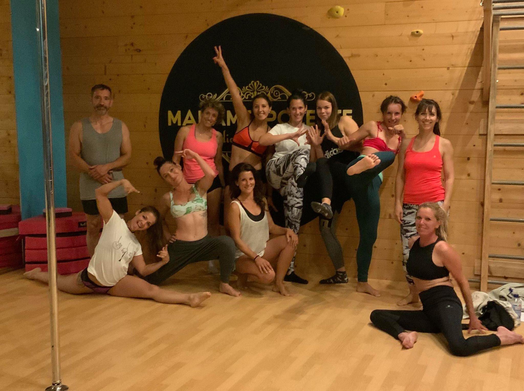 Stage de pole dance : 3 jours intenses chez Madame Polette !